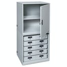 Base TASER Cabinet With Shelf