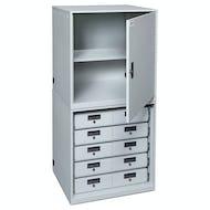 Base TASER Cabinet With Shelf