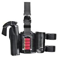 6005-6 Double Strap Leg Shroud w/ Quick-Release Leg Strap