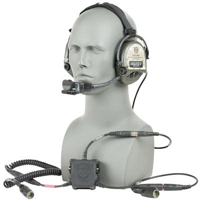 Liberator III BASIC - TACP/JTAC Secure Dual-Comm Tactical Headset
