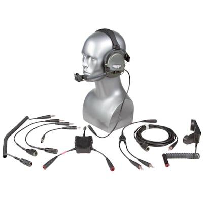 Liberator III ITJCS - TACP/JTAC Secure Dual-Comm Tactical Headset