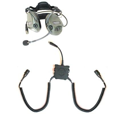 Liberator III LITE Secure Dual-Comm Tactical Headset