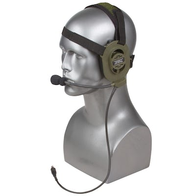 Patrol II Single Or Dual Comm Headset System