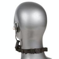 Tactical Throat Microphone Headset Set